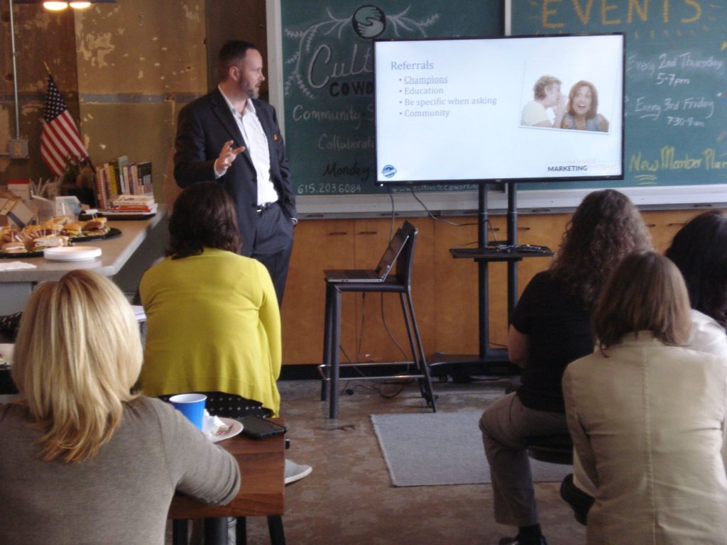 Image of presentation for Nashville Marketing Systems